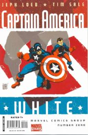 Captain America White Comics